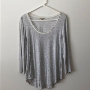 Grey shirt from anthropology
